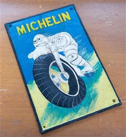 Sale 9191W - Lot 737 - A reproduction michelin man sign