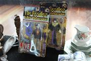 Sale 8283 - Lot 95 - Two Beatles Yellow Submarine Figures in Original Boxes