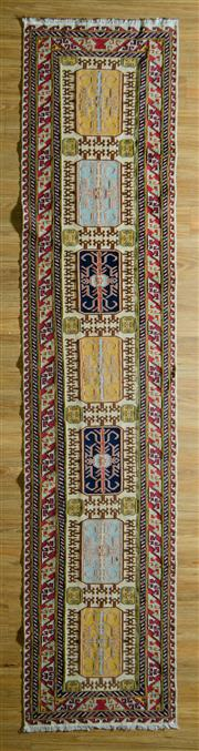 Sale 8700C - Lot 20 - Fine Persian Sumak 390cm x 75cm