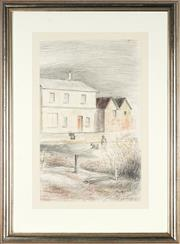 Sale 8811 - Lot 2030 - John Santry (1910 - 1990) - The Old House 48 x 29.5cm