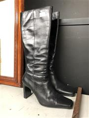 Sale 8836 - Lot 2402 - Pair Of Woman Knee High Boots