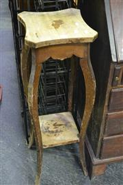 Sale 8105 - Lot 1052 - Tiered Plant Stand