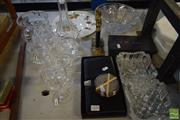 Sale 8497 - Lot 2324 - Collection of Assorted Items incl Royal Crystal Rock Decanter & Glasses