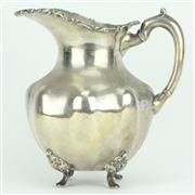 Sale 8252 - Lot 82 - Mexican Sterling Silver Water Jug