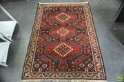 Sale 8299 - Lot 1057 - Persian Rug (160 x 114cm)