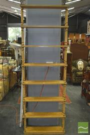 Sale 8331 - Lot 1079 - Tall Timber Open Shelves