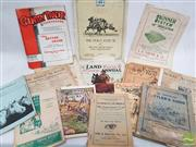 Sale 8900 - Lot 24 - Collection of Country Related Ephemera incl. the Pastoral Review; The Land Farm & Station Annual; How to Buy a Racehorse; etc