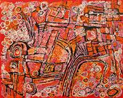 Sale 8656 - Lot 555 - Naata Nungurrayi (1932 - ) - Marrapinti 122.5 x 152.5cm (stretched and ready to hang)