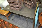 Sale 8115 - Lot 1439 - Metal Table