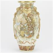 Sale 8342B - Lot 15 - Meiji Satsuma Vase