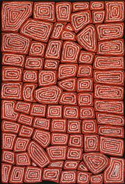 Sale 8475 - Lot 529 - Thomas Tjapaltjarri (c1964 - ) - Tingari 140 x 95cm
