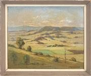 Sale 8443 - Lot 583 - Charles Henry Lancaster (1886 - 1959) - From the Minden Range, Marburg 38 x 45.5cm