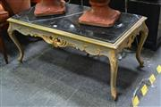 Sale 8054 - Lot 1034 - Marble Top French Style Coffee table
