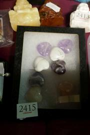 Sale 8362 - Lot 2415 - 8 Gem Hearts All Drilled