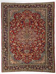 Sale 8770C - Lot 28 - A Persian Najafabad From Isfahan Region 100% Wool Pile On Cotton Foundation, 363 x 283cm