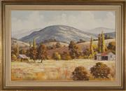 Sale 8945 - Lot 2047 - Alex Steuerwald (1940 - ) - Golden Summer, Macleay Valley 60 x 90 cm (frame: 77 x 107 x 4 cm)