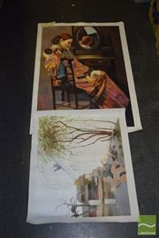 Sale 8506 - Lot 2069 - Chinese Painting on Canvas