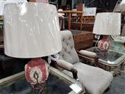 Sale 8740 - Lot 1602 - Pair of Italian Rinascimento Table Lamps (3503)