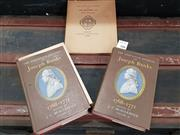 Sale 8822B - Lot 708 - 3 Volumes: ed JC Beaglehole The Endeavour Journal of Joseph Banks 1768-71 Vols I & II 1962 A&R with 1962 Commemorative Booklet & ...