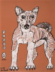 Sale 8918A - Lot 5066 - Yosi Messiah (1964 - ) - My Dog, 2020 65 x 50 cm