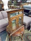 Sale 7920A - Lot 1187 - Mirrored Front Carved Timber Corner Cabinet