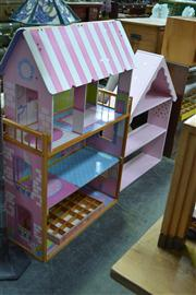 Sale 7981A - Lot 1084 - 2 Large Dolls Houses