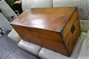 Sale 7987A - Lot 1252 - Antique Timber Trunk
