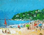 Sale 8799 - Lot 529 - Kevin Charles (Pro) Hart (1928 - 2006) - Palm Beach 19 x 24cm