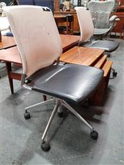 Sale 8822 - Lot 1043 - Pair of Mesh Back Desk Chairs by Vitra