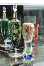 Sale 8098 - Lot 49 - Venetian Decanter with Another Italian Vase