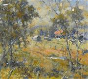 Sale 8325A - Lot 116 - Reginald George Rowe (1916 - 2010) - In the Glade 26.5 x 29.5cm