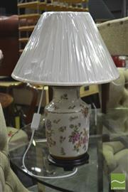 Sale 8326 - Lot 1216 - Pair of Danish Royal Collection Table Lamps (4485)