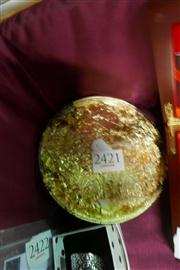 Sale 8362 - Lot 2421 - Round Container Of Pure Gold Leaf