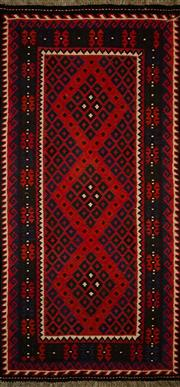 Sale 8412C - Lot 20 - Persian Kilim 220cm x 105cm