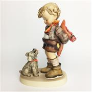 Sale 8456B - Lot 72 - Hummel Figure of a Boy with Dog