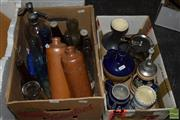 Sale 8530 - Lot 2183 - Collection of Vintage Bottles & Vessels incl Erven Lucas Bolst Lootsje
