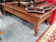 Sale 8700 - Lot 1092 - Timber Coffee Table on Tapering Legs