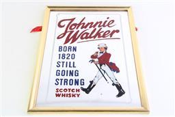 Sale 8985 - Lot 8 - Johnnie Walker Mirror (40.5cm x 30cm)