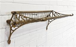 Sale 9174 - Lot 1025 - Reproduction NSW luggage rack (h33 x w70cm)