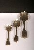 Sale 3650 - Lot 70 - THREE VARIOUS VICTORIAN SPOONS