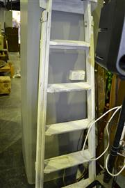Sale 7987A - Lot 1053 - White Painted Ladder