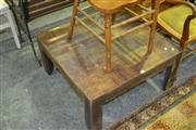Sale 8147 - Lot 1089 - Timber Coffee Table
