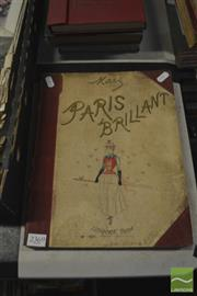 Sale 8407T - Lot 2369 - Book (1) Paris Brilliant by Mars, in French