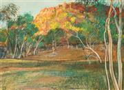 Sale 8648B - Lot 2029 - Terence ODonnell (1942 - ) - Morning Light, Leichhardt River QLD, 1986 53 x 72cm