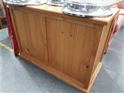 Sale 8744 - Lot 1065 - Pine Lift Top Blanket Box