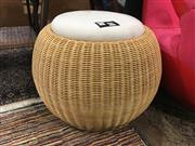 Sale 8782 - Lot 1357 - Cane Footstool