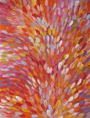 Sale 8955 - Lot 540 - Gloria Petyarre (c1945 - ) - Bush Medicine Leaves 201 x 153 cm (total: 201 x 153 x 3 cm) (stretched and ready to hang)