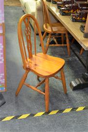 Sale 7981A - Lot 1088 - Set of 4 Timber Dining Chairs