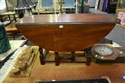 Sale 8039 - Lot 1073 - Dropside Timber Coffee Table On Barley Twist Supports