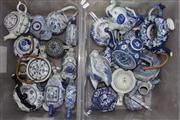 Sale 8432 - Lot 31 - Blue & White Elephant Teapot With Other Blue & White Ceramics incl Lidded Griffin